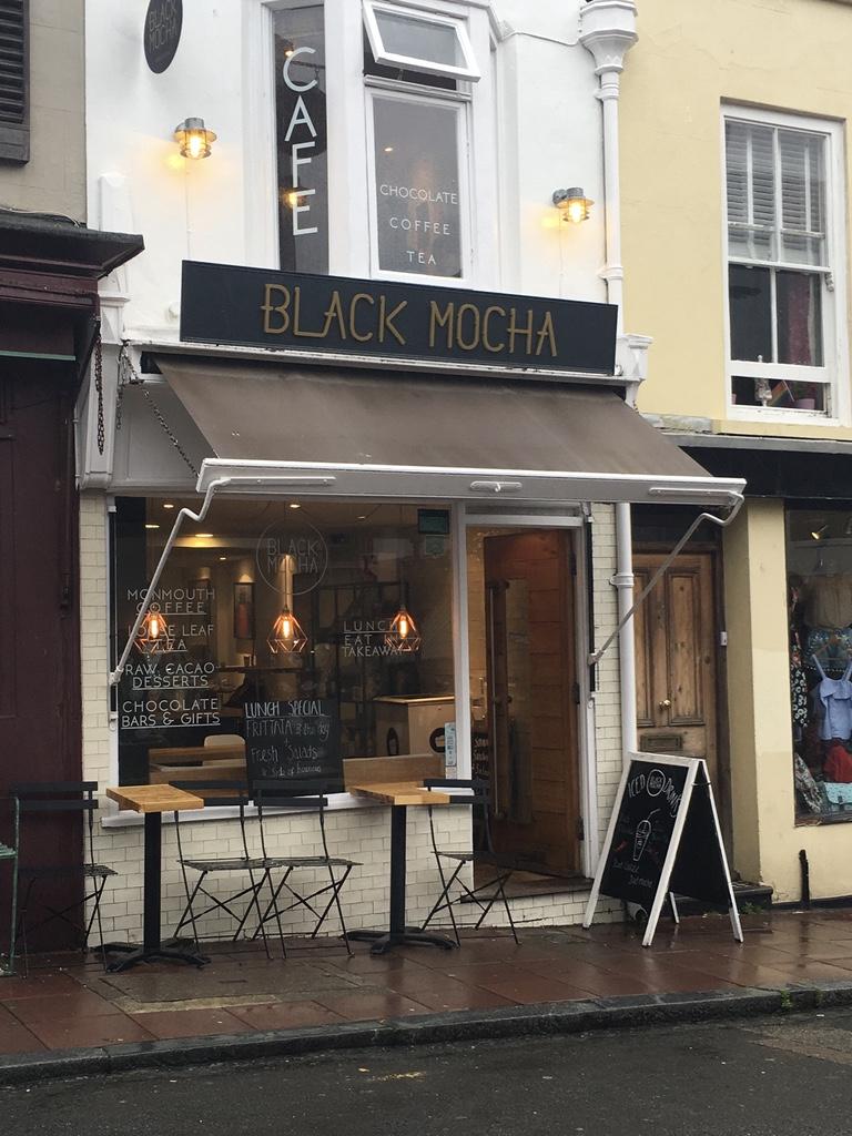 Black Mocha exterior
