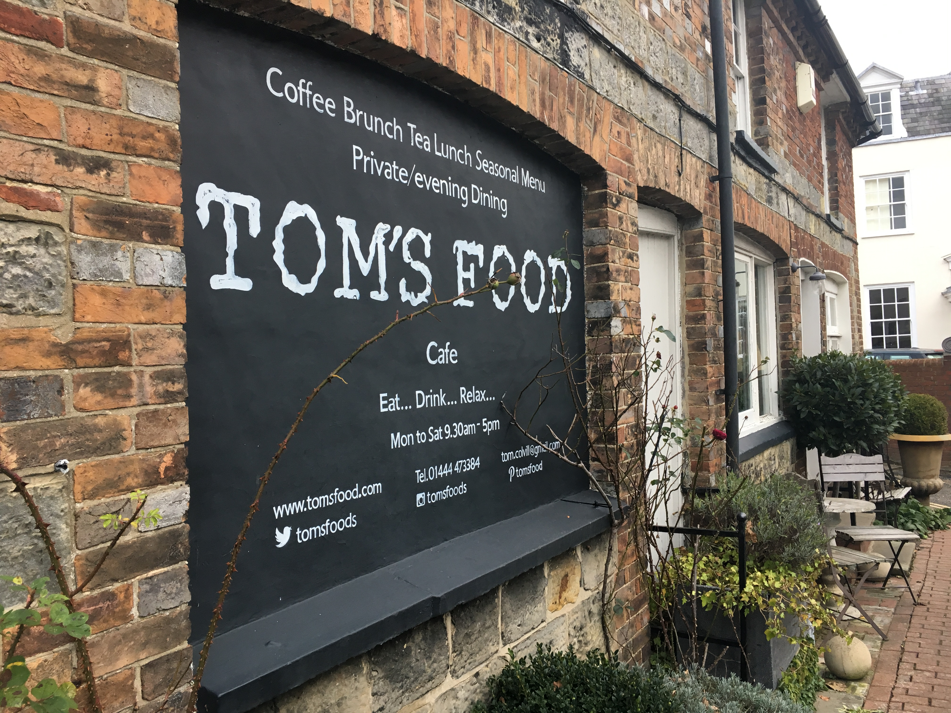 Toms Food Cuckfield West Sussex The Third Place