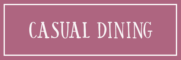 Casual dining reviews