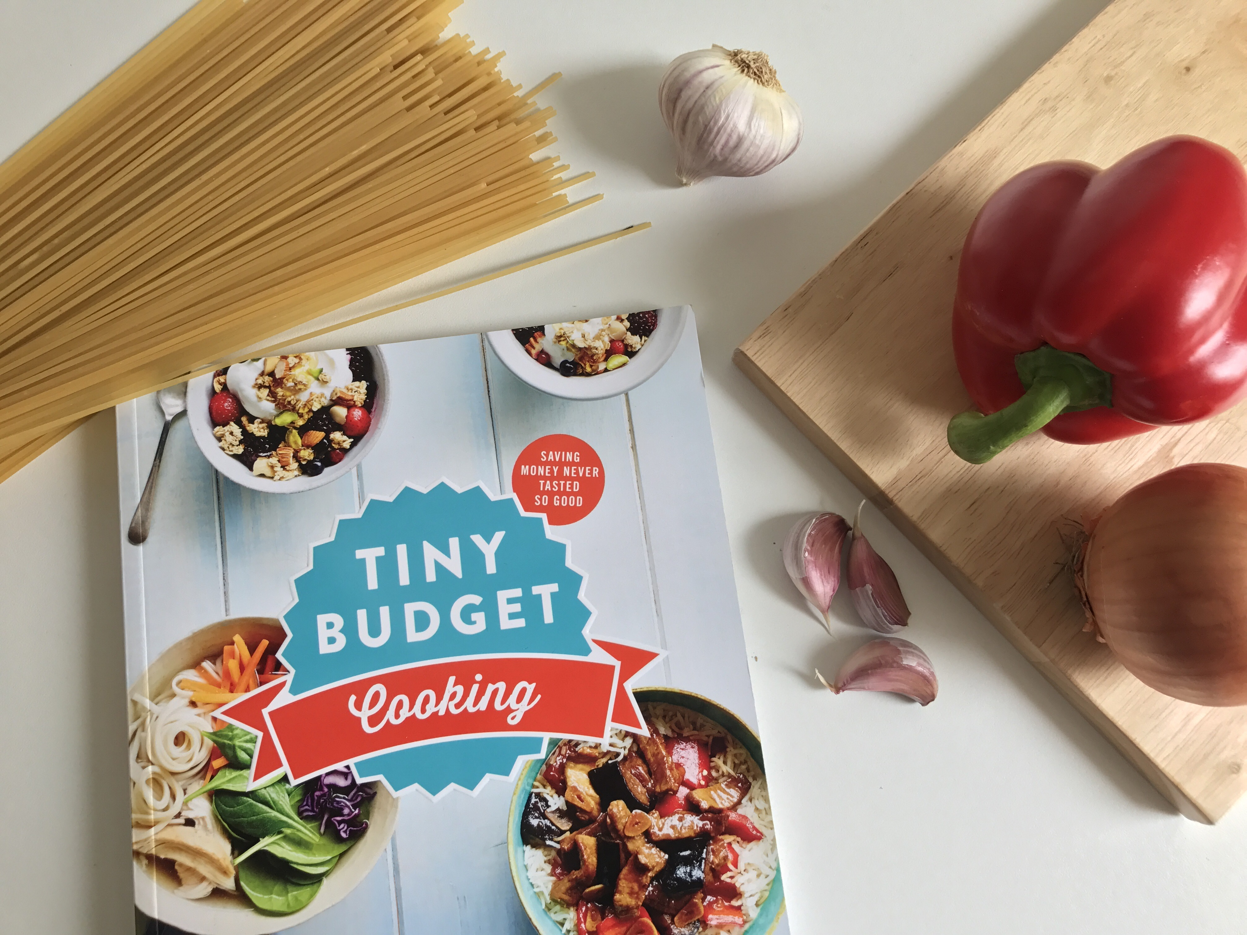 The Tiny Budget Cooking book