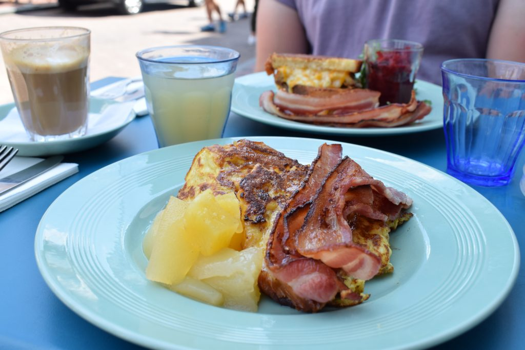 Croissant French toast at Sugardough