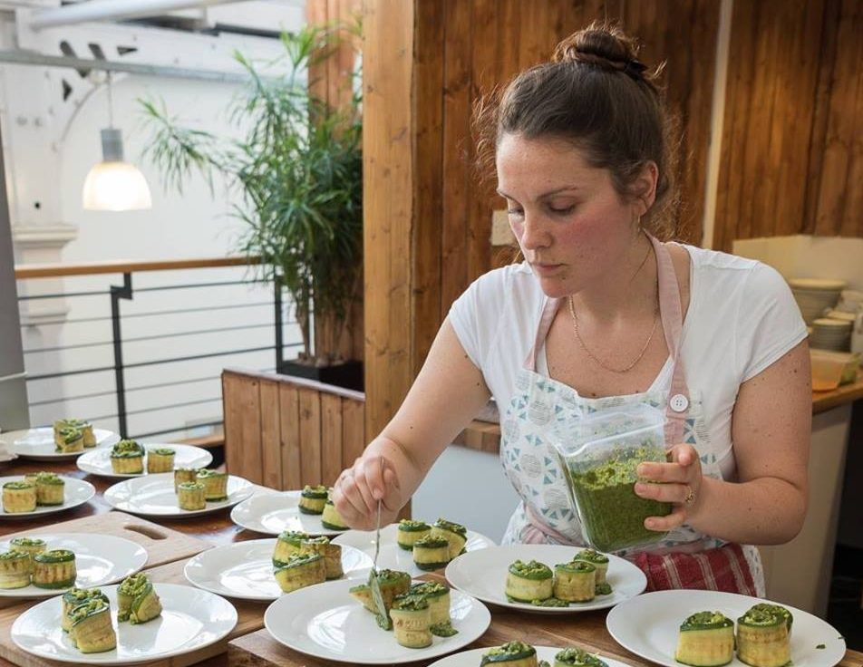 Charlotte Kjaer, head chef at The Canna Kitchen