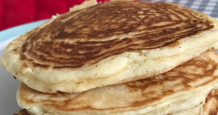 How to make fluffy, American-style pancakes